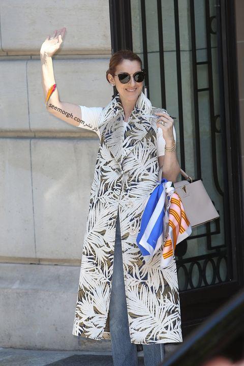 مدل مانتو و بارانی به سبک سلن دیون Celine Dion - مدل شماره 10