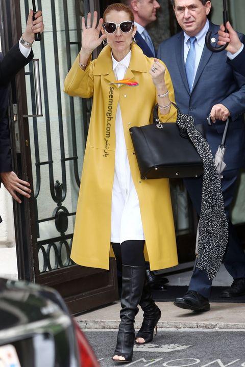 مدل مانتو و بارانی به سبک سلن دیون Celine Dion - مدل شماره 5