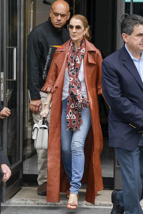 مدل مانتو و بارانی به سبک سلن دیون Celine Dion - مدل شماره 4