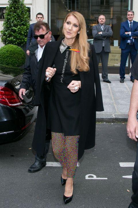 مدل مانتو و بارانی به سبک سلن دیون Celine Dion - مدل شماره 3