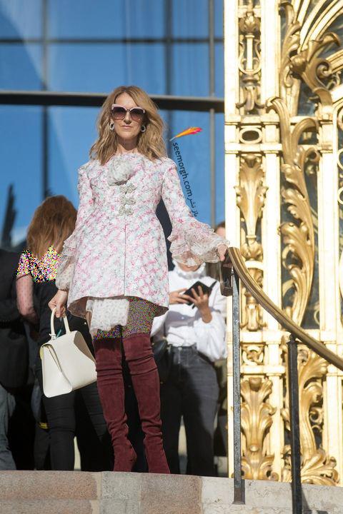 مدل مانتو و بارانی به سبک سلن دیون Celine Dion - مدل شماره 2