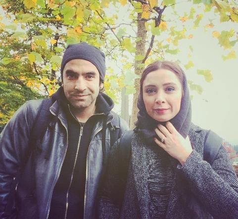 فرناز رهنما و همسرش کیارش اعتمادسیفی