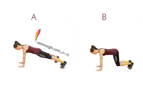 تناسب اندام با چند حرکت ساده با استفاده از کش ورزشی