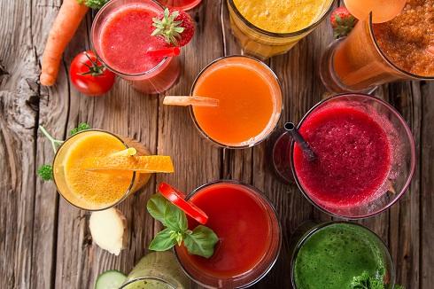 آب میوه تازه یا آب سبزیجات تازه