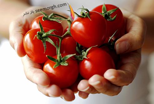 حقایقی جالب و عجیب در مورد میوه ها وسبزی ها-گوجه
