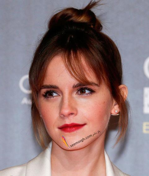 مدل مو چتری اما واتسون Emma Watson