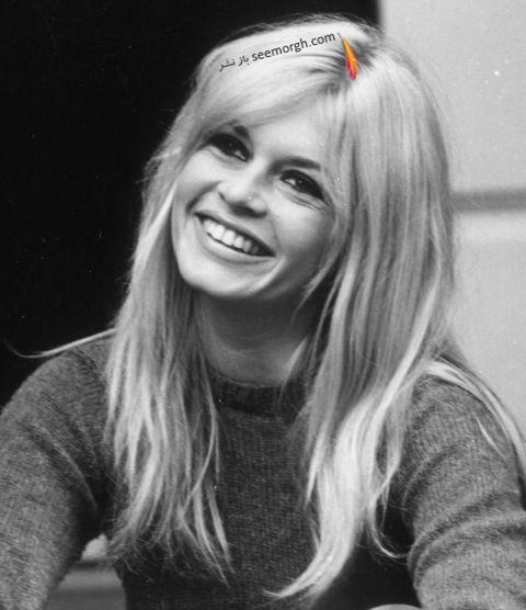 مدل مو چتری برژیت باردو Brigitte Bardot
