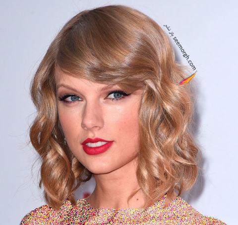 مدل مو چتری تیلور سویفت Taylor Swift