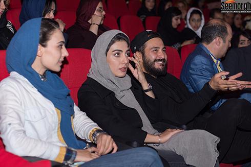 میلاد کی مرام, لیلا زارع و نگار جوکار در پردیس سینمایی ملت