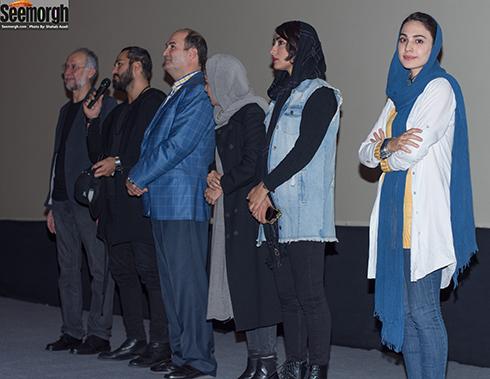 اکران مردمی فیلم غیرمجاز با حضور عوامل و بازیگران