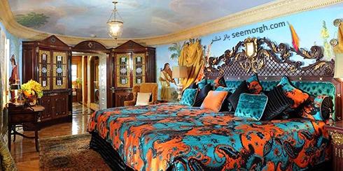 دکوراسیون داخلی هتل گران قیمت جیانی ورساچه Gianni Versace - عکس شماره 6