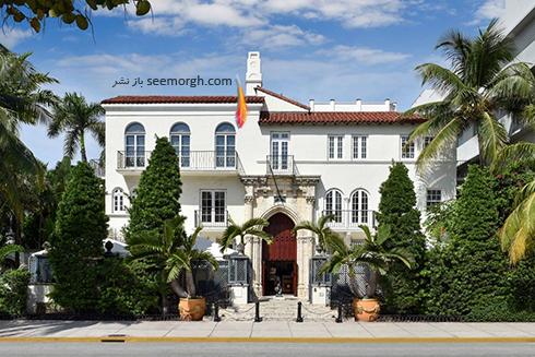 دکوراسیون داخلی هتل گران قیمت جیانی ورساچه Gianni Versace - عکس شماره 1