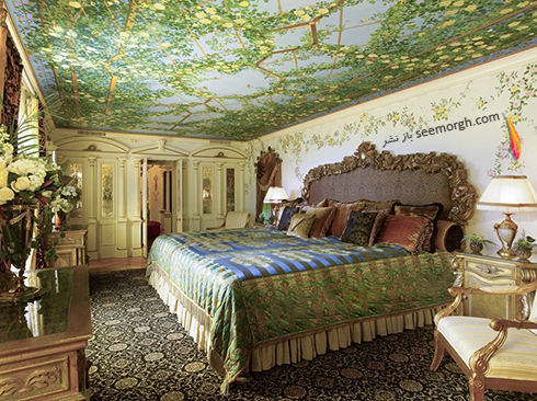 دکوراسیون داخلی هتل گران قیمت جیانی ورساچه Gianni Versace - عکس شماره 2