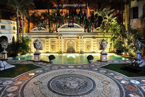 دکوراسیون داخلی هتل گران قیمت جیانی ورساچه Gianni Versace - عکس شماره 3