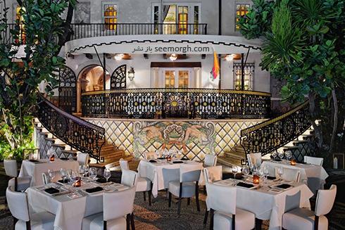 دکوراسیون داخلی هتل گران قیمت جیانی ورساچه Gianni Versace - عکس شماره 4