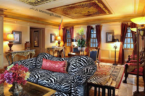 دکوراسیون داخلی هتل گران قیمت جیانی ورساچه Gianni Versace - عکس شماره 10