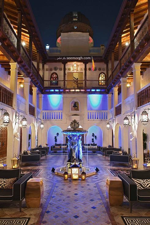 دکوراسیون داخلی هتل گران قیمت جیانی ورساچه Gianni Versace - عکس شماره 5