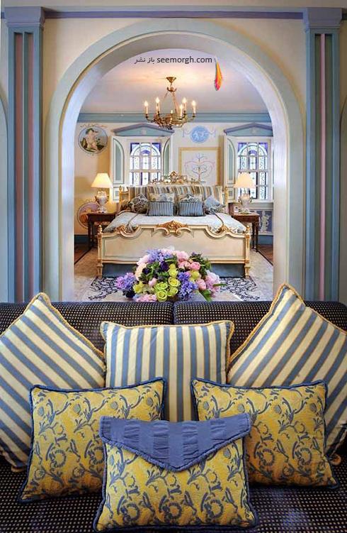 دکوراسیون داخلی هتل گران قیمت جیانی ورساچه Gianni Versace - عکس شماره 8