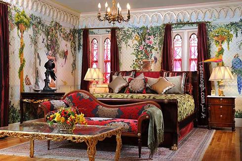 دکوراسیون داخلی هتل گران قیمت جیانی ورساچه Gianni Versace - عکس شماره 9