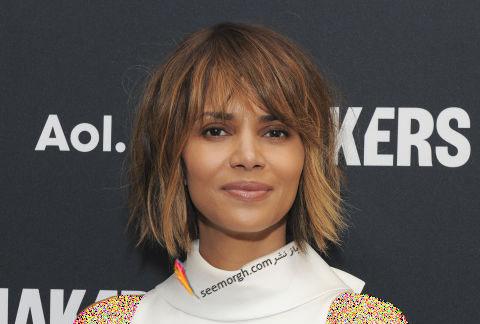 مدل مو به سبک هال بری Halle Berry برای خانم های بالای 30 سال
