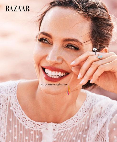 عکس های آنجلینا جولی Anjelina Jolie روی مجله بازار - عکس شماره 3