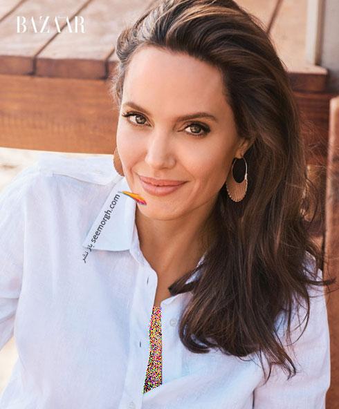 عکس های آنجلینا جولی Anjelina Jolie روی مجله بازار - عکس شماره 5