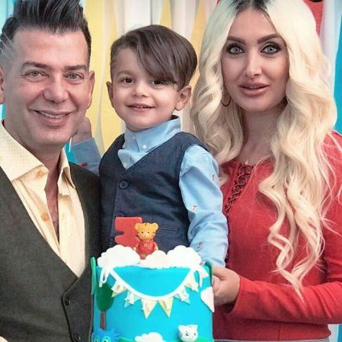 جشن تولد 3 سالگی پسر هانری زادور