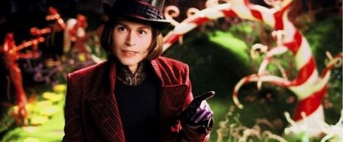 جانی دپ در فیلم چارلی و کارخانه شکلات سازی
