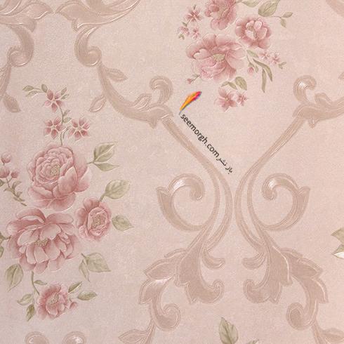 رنگ کاغذ دیواری مناسب برای ست کردن با مبلمان کلاسیک زعفرانی - عکس شماره 4