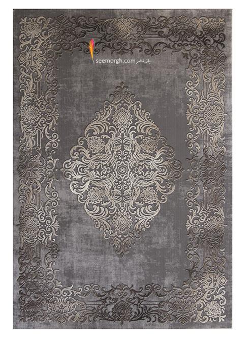 رنگ و طرح فرش مناسب برای ست کردن با مبلمان کلاسیک زعفرانی - عکس شماره 13