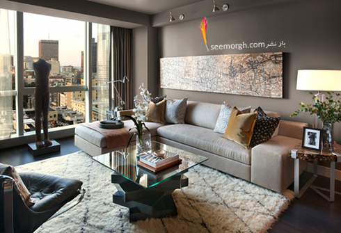 رنگ و طرح فرش مناسب برای ست کردن با مبلمان کلاسیک زعفرانی - عکس شماره 17