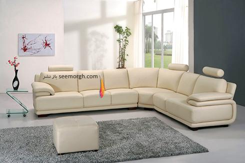 کاناپه مناسب برای ست کردن با مبلمان کلاسیک زعفرانی - عکس شماره 23