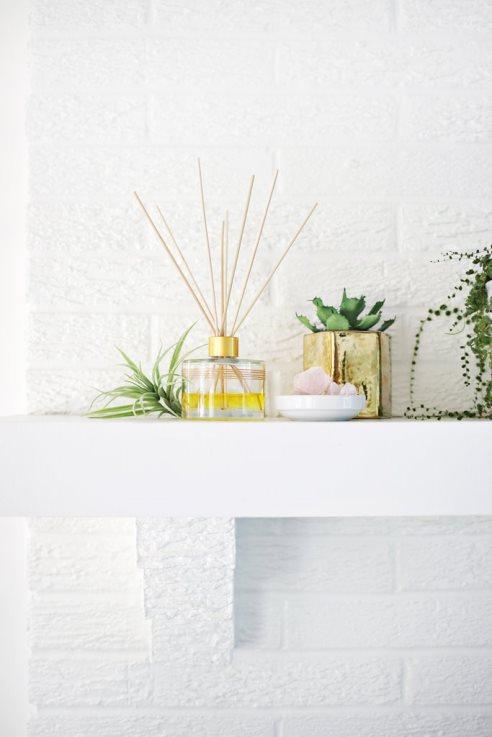 براي خوشبو نگه داشتن خانه تان با روغن هاي ضروري پخش کننده عطر درست کنيد
