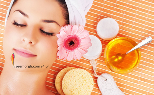 مرطوب کننده پوست با عسل