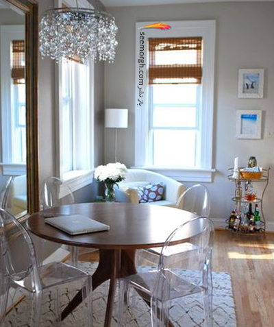 میز ناهارخوری گرد برای فضاهای کوچک عالی هستند