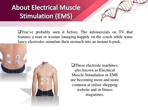کاهش وزن با EMS