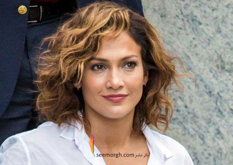 مدل مو به سبک جنیفر لوپز Jennifer Lopez برای خانم های بالای 30 سال