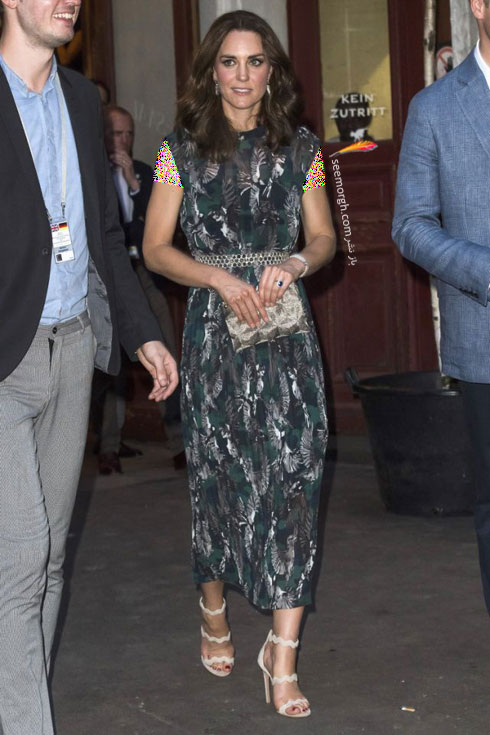 مدل لباس شب به سبک کیت میدلتون Kate Middleton - عکس شماره 1