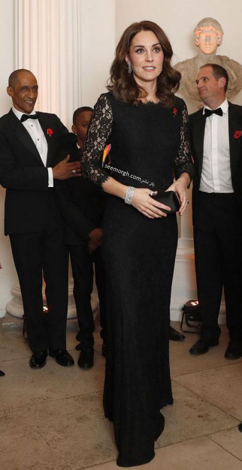 مدل لباس شب به سبک کیت میدلتون Kate Middleton - عکس شماره 2