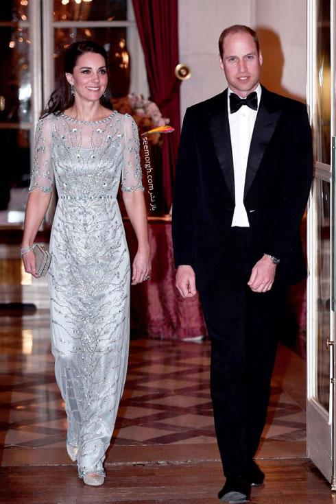 مدل لباس شب به سبک کیت میدلتون Kate Middleton - عکس شماره 9