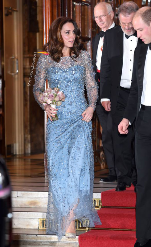 مدل لباس شب به سبک کیت میدلتون Kate Middleton - عکس شماره 7