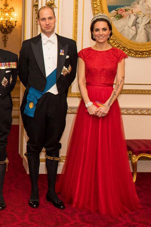 مدل لباس شب به سبک کیت میدلتون Kate Middleton - عکس شماره 5