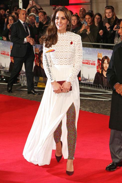 مدل لباس شب به سبک کیت میدلتون Kate Middleton - عکس شماره 4