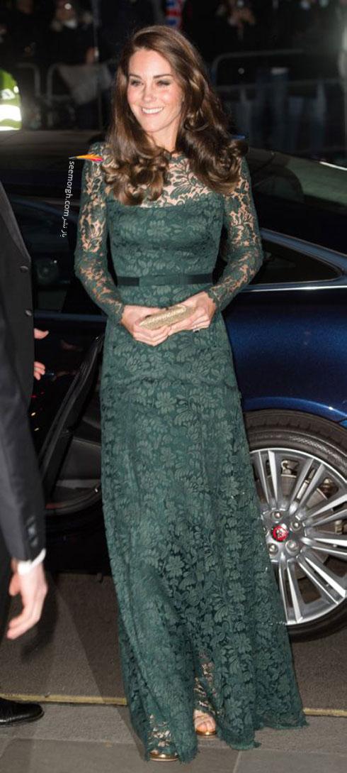 مدل لباس شب به سبک کیت میدلتون Kate Middleton - عکس شماره 3
