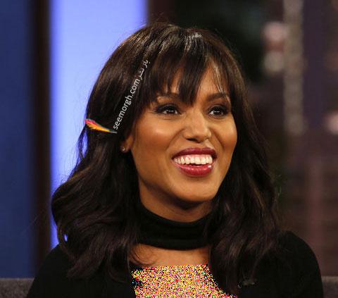 مدل مو به سبک کری واشینگتون Kerry Washington برای خانم های بالای 30 سال