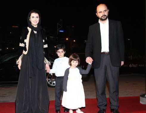 لیلا حاتمی، علی مصفا و فرزندان شان