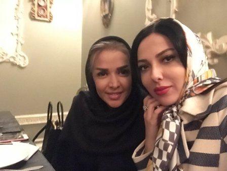 لیلا اوتادی و مربی اش