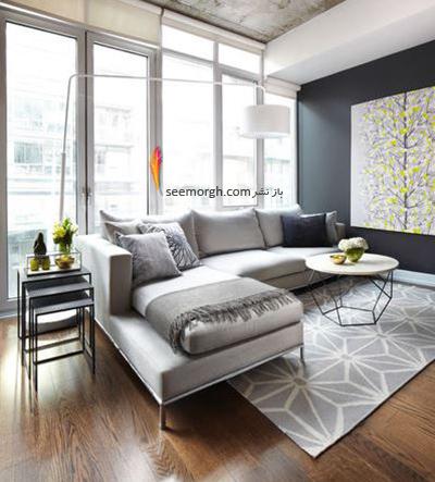 4 - آیا یک فرش بزرگ دارید که طراحی شما را قویتر کند؟