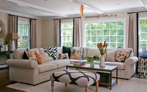 5 - آیا برای پنجرهتان از پوششهای تزئینی استفاده کردهاید؟