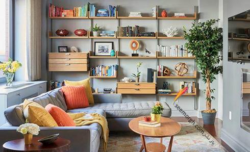 6 - آیا اتاق شما سبک و رنگهای مورد علاقهتان را به نمایش می گذارد؟